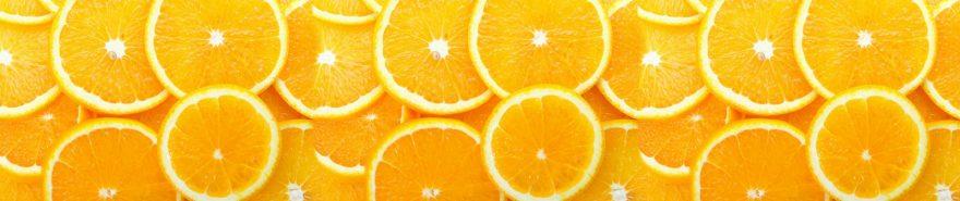 Изображение для стеклянного кухонного фартука, скинали: фрукты, апельсины, skin252