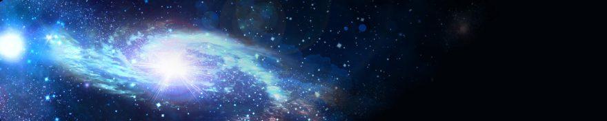 Изображение для стеклянного кухонного фартука, скинали: космос, skin345