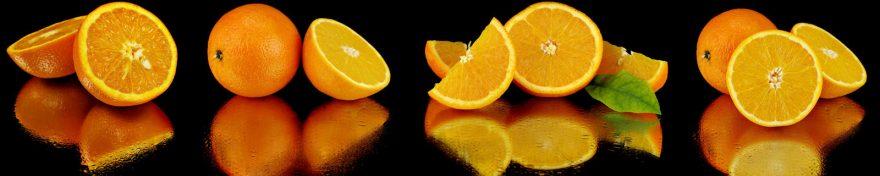 Изображение для стеклянного кухонного фартука, скинали: фрукты, апельсины, skin471
