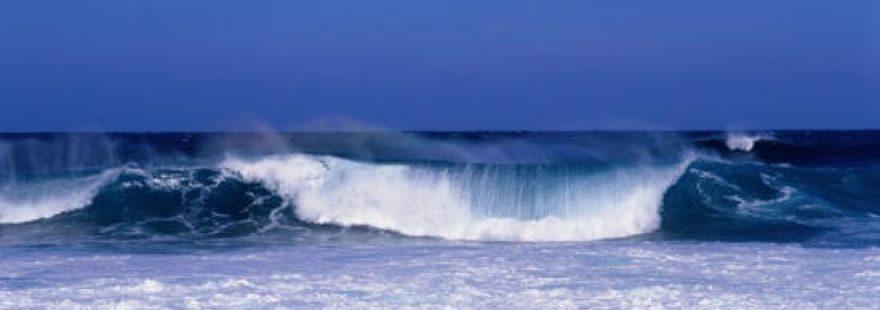 Изображение для стеклянного кухонного фартука, скинали: море, волны, skinap16