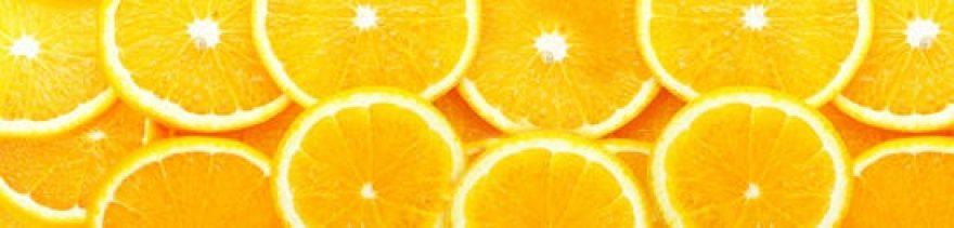 Изображение для стеклянного кухонного фартука, скинали: фрукты, апельсины, skinap29