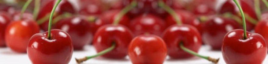 Изображение для стеклянного кухонного фартука, скинали: ягоды, вишня, skinap30