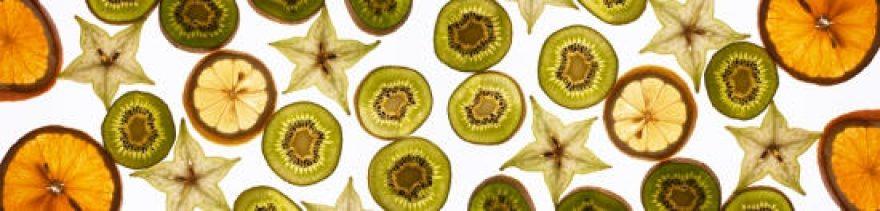Изображение для стеклянного кухонного фартука, скинали: фрукты, апельсины, киви, skinap33