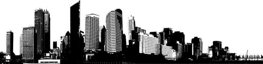 Изображение для стеклянного кухонного фартука, скинали: город, небоскребы, skinap46