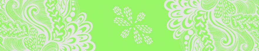 Изображение для стеклянного кухонного фартука, скинали: орнамент, skinv38
