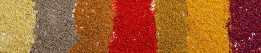 Изображение для стеклянного кухонного фартука, скинали: специи, speciii001