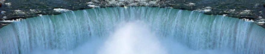 Изображение для стеклянного кухонного фартука, скинали: водопад, vodopad005