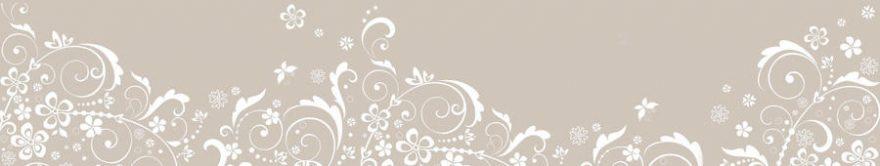 Изображение для стеклянного кухонного фартука, скинали: орнамент, fartux796
