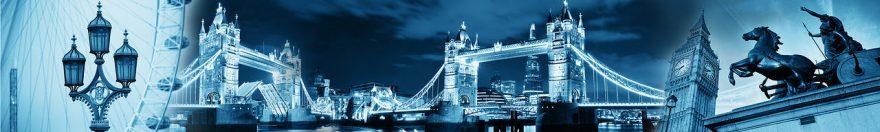 Изображение для стеклянного кухонного фартука, скинали: город, архитектура, лондон, fartux970