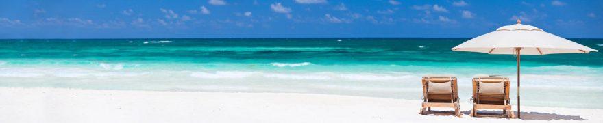 Изображение для стеклянного кухонного фартука, скинали: море, пляж, morokea012