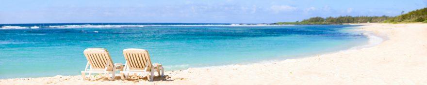 Изображение для стеклянного кухонного фартука, скинали: море, пляж, skin263