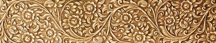 Изображение для стеклянного кухонного фартука, скинали: орнамент, skin328