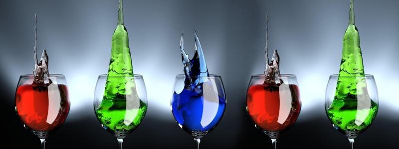 Изображение для стеклянного кухонного фартука, скинали: напитки, бокал, skinap59